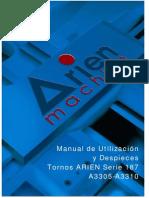 Manual Arien Serie-187 (Spanish)(A3310-A3305)