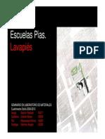 Madera - Rehabilitacion Escuelas Pias de Lavapies