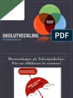 Lärande Och Inflytande På Riktigt När Olikheten Är Normen, Toltorpskolan Dec 2014