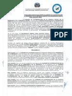 Convenio Interistitucional entre el GCPS y la UAPA