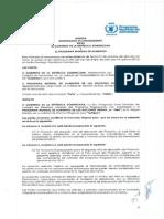 Convenio Interistitucional entre el GCPS y el PMA
