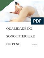 Qualidade Do Sono Interfere No Peso Dayse Marinho