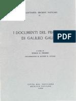 65759221 GALILEI GALILEO Actas Del Juicio a Galileo Archivo Vaticano