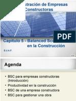 Administración de Empresas ConstructorasBSC