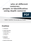 People re-identification using depth cameras