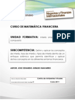 Interes Simple y Compuesto - Matematicas Financiera