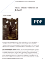 Glosario de Referencias Lexicas Leon de Greiff