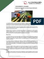 NP21 (23.02.15) Contraloría advierte riesgos que retrasarían concesión de gas natural para Piura