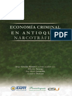 Economía Criminal en Antioquia