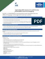 IDP Application Form