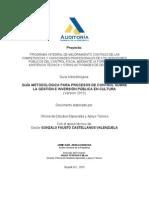 Guía Metodológica Para Procesos de Control Sobre La Gestión e Inversión Pública en Cultura