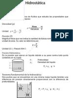 Hidraulica Basica Formulario