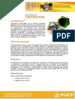 Brochure DIplomatura de Especialización END 2014