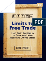 Limits to FreeTrade NonTarifBarriersinEU-US-Japan