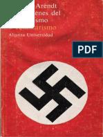 Hannah Arendt Totalitarismo Ideolog a y Terror 1