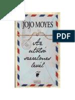 Jojo Moyes - Az Utolsó Szerelmes Levél