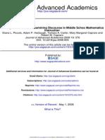 Journal of Advanced Academics 2008 Piccolo 376 410