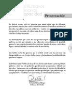Cartilla Defensor Del Puebo Discapacidad