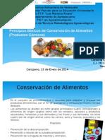 Principios Básicos de Conservación de Alimentos