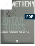 Pat Metheny-Guitar Etudes