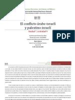El conflicto árabe-israelí y palestino-israelí