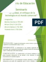 Tecnología de La Información y Comunicaciòn