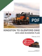 Catskill Mountain Railroad business plan