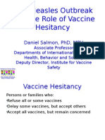 Law, Politics and the Messages We Send About Vaccines