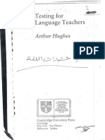 HUGHES - Testing for Language Teachers