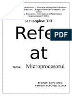 referat microprocesoare