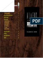 Aliens Versus Predator Classic 2000 Manual