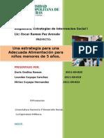 Proyecto Estrategia de Intervencion Social