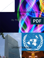 UN and the World Bank (WB)