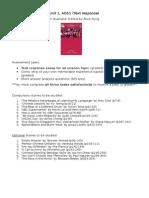 outline of aos1