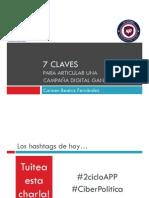 """Conferencia Carmen Beatriz Fernández """"7 Claves para articular una campaña digital ganadora"""""""