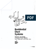 Residential Duct Design Systems