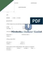 Questionnaires Tnpl