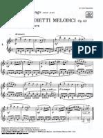 245216275 Longo 40 Studietti Melodici Op 43