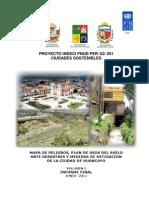 MAPA DE PELIGROS, PLAN DE USOS DEL SUELO ANTE DESASTRES Y MEDIDAS DE MITIGACIÓN DE LA CIUDAD DE HUANCAYO