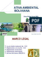 01) Normativa Ambiental Boliviana