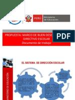 Marco Del Buen Directivo Escolar