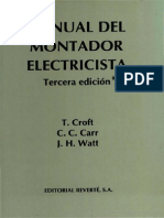Manual Del Montador Electricista_PDF_T. CRoft
