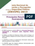 ENVIPE 2013 11 Guanajuato