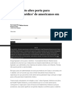 Reatamento Abre Porta Para 'Turismo Médico' de Americanos Em Cuba