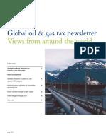 Deloitte Global Oil Gas Tax Newsletter 072011