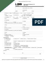 requerimento Profissional - Novo Formulário