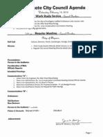 Agenda February 18, 2015