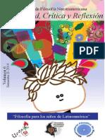 Vol 6 Filosofía Para Los Niños de Latinoamérica- 3er Certamen Internacional de Ensayo Filosófico y Cartel Filosófico