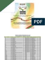 Lista de candidatos habilitados para las elecciones subnacionales en el departamento de La Paz