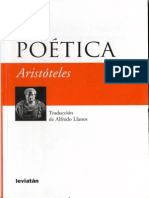 Aristóteles de Estagira - Poética (Leviatán, 2009)